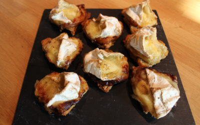 Toast Camembert & Pommes